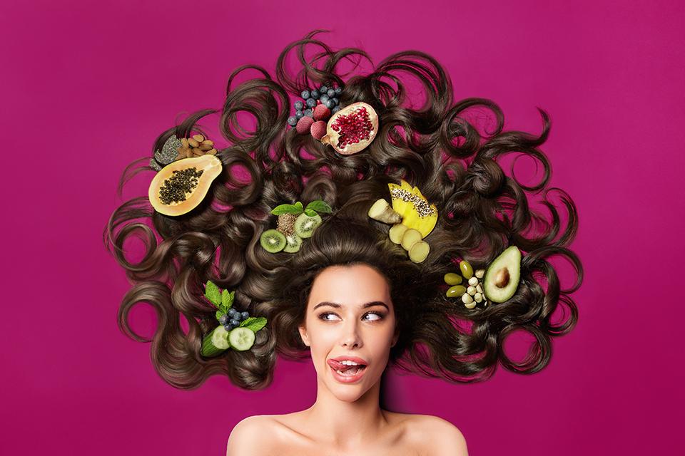 fruit for hair