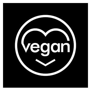 vegan logo love for hair