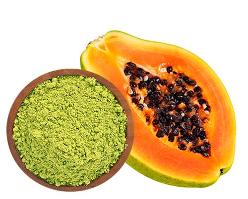grüntee und papaya