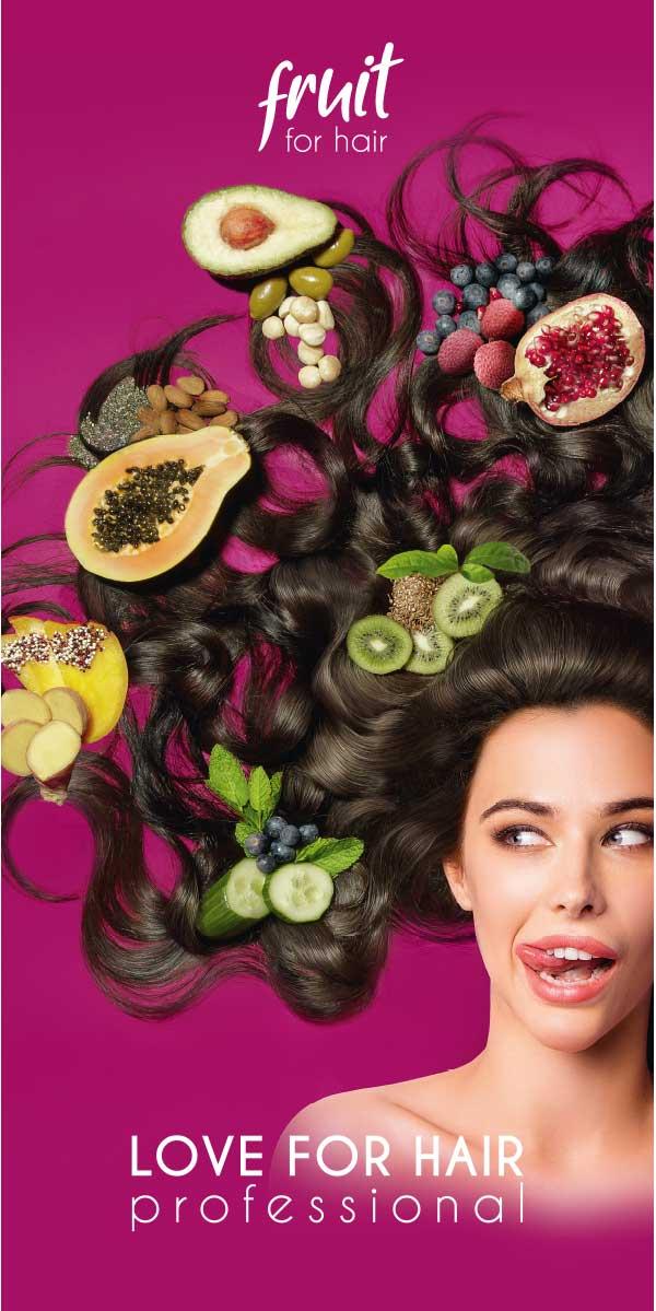stoffbanner fruit for hair marke